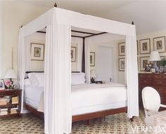 Four Poster Bed Master Bedroom Boho