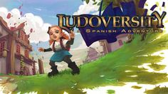 Ludoversity is a Spanish learning game in which you play as a magician apprentice on their quest to master the language of magic.