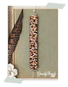 GoodyBeads.com Blog | Ocean Pebble Super Duo Bracelet and Tutorial
