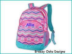Backpack, Teen Backpack, Diaper Bag, Monogramed Backpack, School Bookbag, Kids Backpack, Full Size Backpack, Rucksac, Personalized
