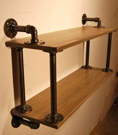 "columbia all for sale / wanted classifieds ""restoration hardware"" - craigslist Industrial Pipe Shelves, Industrial Style, Pipe Shelving, Metal Furniture, Industrial Furniture, Pipe Decor, Diy Pipe, Pipe Table, Restoration Hardware"