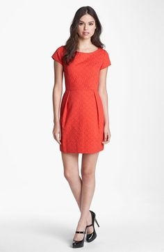Taylor Dresses Cap Sleeve Shift Dress available at #Nordstrom