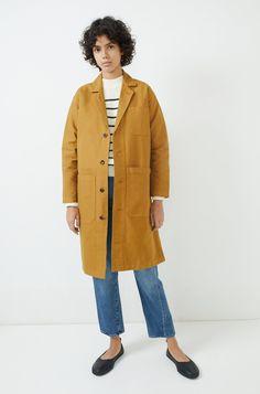 Alex Mill Long Work Jacket | Bird Brooklyn
