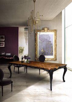 Fantastisch Außergewöhnlichen Einrichtungsideen Für Das Esszimmer Design U003e Bei Dem Blog  Wohn DesignTrend Finden Sie Was