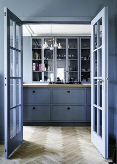 Read More: https://www.stylemepretty.com/living/2014/05/22/15-stunning-gray-kitchens/