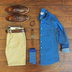 Outfit grid - Summer style