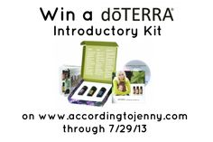 Natural Homemade All Purpose Cleaner [  doTERRA Introductory Kit Review and Giveaway]