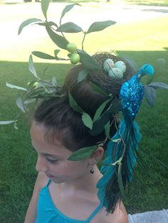 I did this for crazy hair day