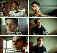 Stiles has a point...Isaac's just there to look pretty
