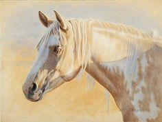 "Sunny - horse painting by Ann Hanson Oil ~ 9"" x 12"""