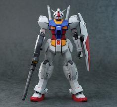 Gunpla Custom, Custom Gundam, Action Figure One Piece, Gundam Build Fighters, Gundam 00, Astro Boy, Msv, Mechanical Design, Robot Art