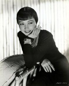 Anna May Wong, 1938, vintage, actress.