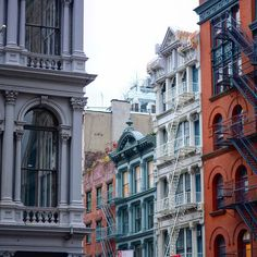 SoHo, NYC by katya_newyork - The Best Photos and Videos of New York City including the Statue of Liberty, Brooklyn Bridge, Central Park, Empire State Building, Chrysler Building and other popular New York places and attractions.