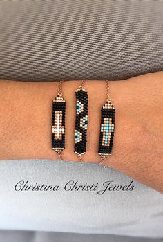 Rose Gold Bracelets Cross Bracelet Rose by ChristinaChristiJls