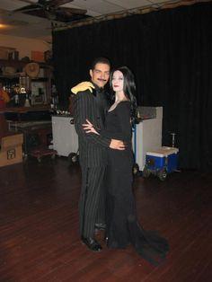 Gomez and Morticia Adams