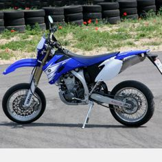 Yamaha WR450 supermoto