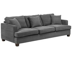 XL-Sofa WARREN - Baumwolle/Leinen/Holz WestwingNow   WestwingNow