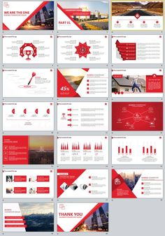 templates Video Features: Redcolor business PowerPoint templates Easy and fully editable in powerpoint (shape color, size, position, etc) Easy customizable contents Brand Presentation, Corporate Presentation, Presentation Design Template, Presentation Layout, Powerpoint Design Templates, Professional Powerpoint Templates, Powerpoint Themes, Keynote Template, Business Company