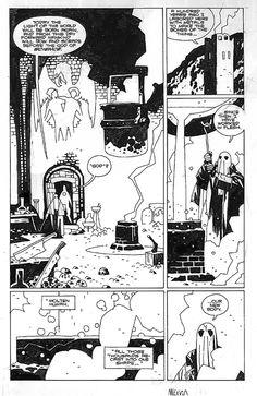 Almost Colossus page Comic Art