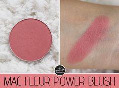 mac fleur power blush review swatch