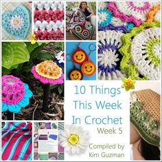 10 crochet projects...these are all so cute!