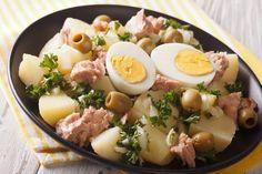 Diet Recipes, Cooking Recipes, Healthy Recipes, Vegetable Salad, Antipasto, Healthy Salads, Olives, Summer Recipes, Food Hacks