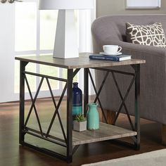 Simple Living Seneca XX Reclaimed Look End Table By Simple Living. Living  Room Side TablesSofa ...