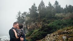 Redwood Trees | California Redwoods | Humboldt Fog | Humboldt County | Northern California | Destination Wedding | Destination Engagement Session | Engagement Portraits | JM Photography | Humboldt County | Rain | Outdoor Portraits | Wedding Rock | Patrick's Point | Storm | California State Parks