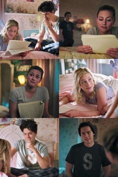"""""""It's a beautiful story, Jug"""" """"These are really great, Jug"""" betty always being supportive of jughead's writing ❤ Riverdale Poster, Riverdale Quotes, Bughead Riverdale, Riverdale Archie, Riverdale Funny, Betty Cooper, Riverdale Betty And Jughead, Cole Spouse, Lili Reinhart And Cole Sprouse"""