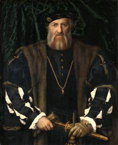 Hans Holbein d. J.: Bildnis des Charles de Solier, Sieur de Morette, 1534/35