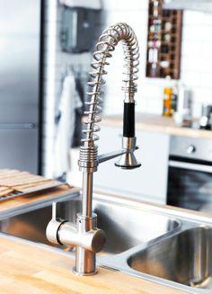 Met deze HJUVIK kraan is een glas water inschenken al een feestje! #IKEA