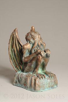 Cthulhu Statue by ~MrSoles on deviantART