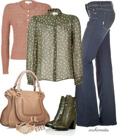 """""""Pistachio and Rose"""" by archimedes16 on Polyvore"""