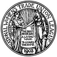 Seal of National Womens Trade Union League, from the Proceedings of the Third Biennial Convention, Baker Library, Harvard Business School, Historical Collections Bread And Roses, Union Logo, Dublin House, Athens Hotel, The Great Migration, Labor Union, Harvard Business School, Paris Hotels, Working Mother