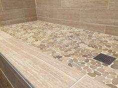 Sliced-Java-Tan-Pebble-Tile-Shower-Floor