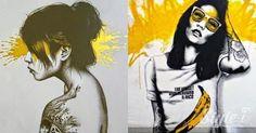 which streetart? vote via stylei @styleiapp #styleiapp