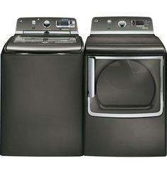 GE Washer & Dryer. I want a top loading washer and front loading dryer