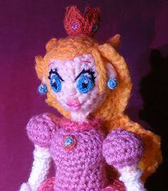 1500 Free Amigurumi Patterns: Free Amigurumi Princess Peach/ Princess Toadstool Crochet Pattern