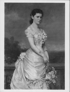 """""""Princess Helen of Waldeck and Pyrmont (1861-1922), Duchess of Albany"""", Carl Rudolph Sohn, 1882; Royal Collection Trust 405023"""