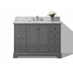 Powder room vanity | Maison Powder Room Vanity Sink | Single ... on