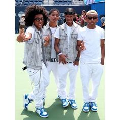 Photo of Mindless Behavior - Arthur Ashe Kids Day 2012 - Picture Browse more than pictures of celebrity and movie on AceShowbiz. Ray Ray Mindless Behavior, Mindless Behavior Princeton, Roc Royal, Princeton Perez, Extreme Hair Growth, I Love My Brother, 13 Year Old Boys, Boys Underwear, Spice Girls