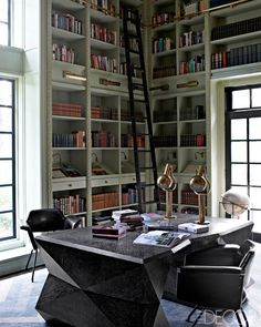 I am of the belief that your office should look as cool as any other room in your space otherwise why would you want to spend time in there right? It's not easy though as you have to somehow seamle…