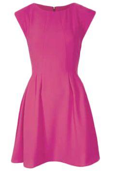 Crepe Seam Flippy Dress - Matchbook Magazine