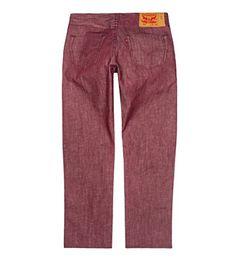 Levis 501 Original Fit Jean Red 38X32