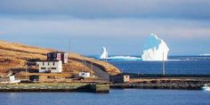 A 150-Foot-Tall Iceberg Is Floating by Canada Right Now