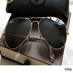 Óculos de sol Ray-Ban Aviador #aviador #aviator #rayban #sunglass #oculos