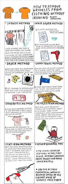 Quick and Simple Hacks to Fix Your Clothes: Wrinkly Clothes, 1