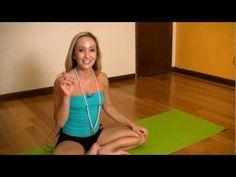 Yogic Breathing Exercises - Ujjayi Pranayama with Kino - YouTube