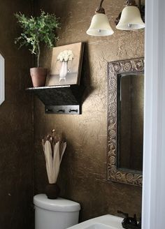 Love the Textured Walls