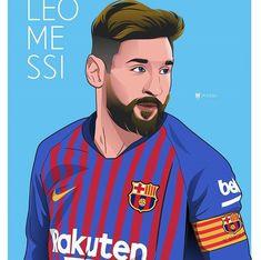 Memphis, Football Art, Eden Hazard, Lionel Messi, Liverpool, Leo, Barcelona, Soccer, Illustration